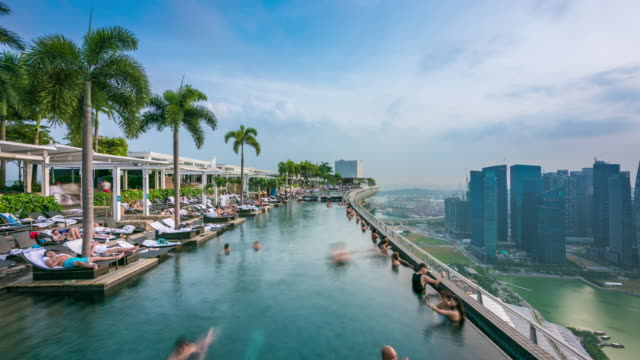 , singapore - marina bay sands stock videos and b-roll footage