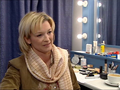 singer adam faith dies; lnn = no resale. england: london: int gillian taylforth interviewed sot - he was brilliant to work with, supportive - gillian taylforth stock videos & royalty-free footage