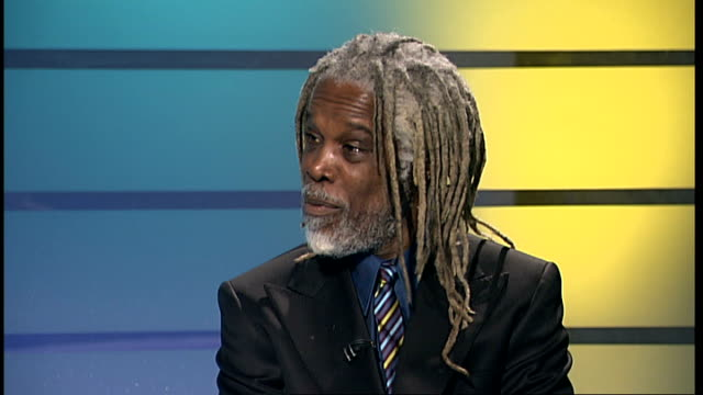singer billy ocean releases first new album in fifteen years; england: london: gir: int billy ocean live studio interview sot - on his new album... - ポピュラーミュージックツアー点の映像素材/bロール