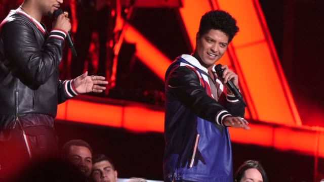 Singer Bruno Mars is among the top nominees for this year's Grammy Awards earning six nominations including Album of the Year for his 24K Magic