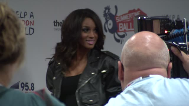 singer ciara at the capital fm summer ball at london england - ciara singer stock videos & royalty-free footage