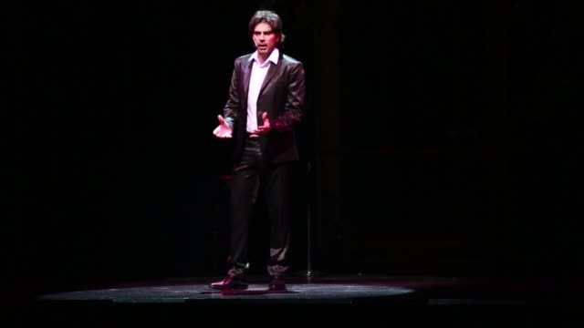 a singer during the tango show tango porteno in buenos aires argentina - tangoing stock videos & royalty-free footage