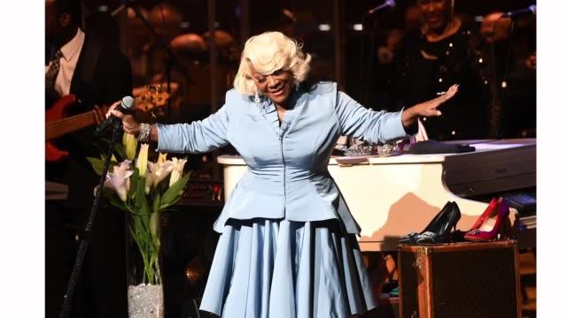 Singer Patti LaBelle perform in concert at Atlanta Symphony Hall on April 07 2019 in Atlanta Georgia