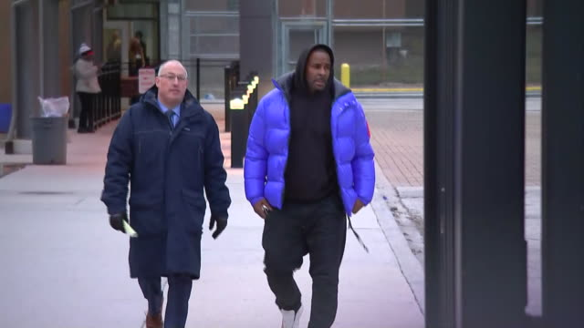 singer r kelly is released from jail after posting bail for sexual abuse charges on february 25 2019 in chicago illinois - bail cricket stump stock videos & royalty-free footage