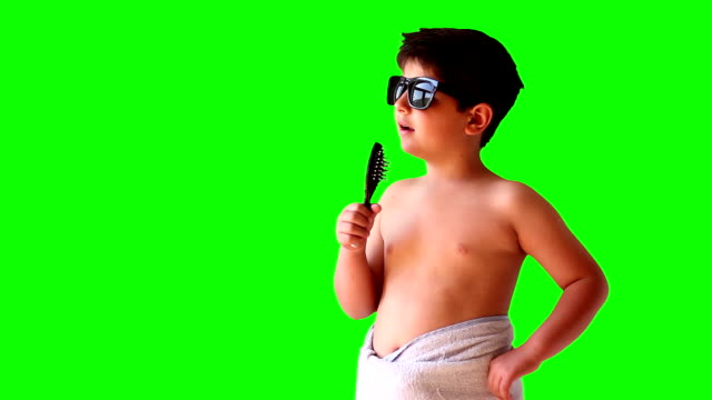 singer wearing sunglasses and a towel - wearing a towel stock videos & royalty-free footage