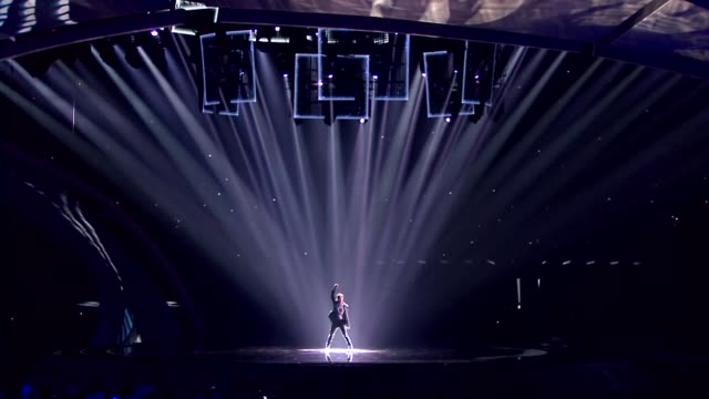 singers and musicians from around the world perform at the 2017 eurovision song contest held this year in kiev ukraine - ukraine stock-videos und b-roll-filmmaterial