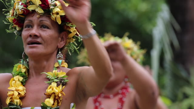 Singers from Fatu Hiva French Polynesia