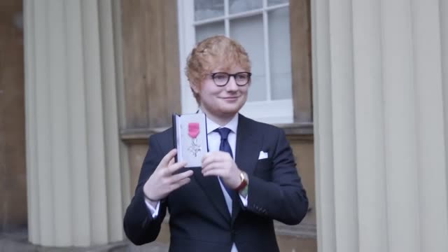 Singersongwriter Ed Sheeran is awarded an MBE in the Queen's Birthday Honours list at Buckingham Palace When asked if he will sing for Prince Harry...