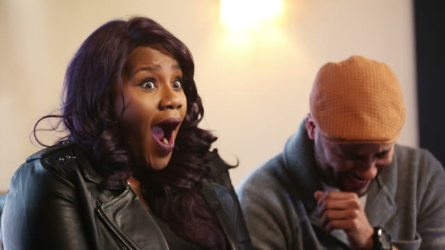 singer-songwriter kelly price speaks during the dream in black sunday brunch during the 2019 sundance film festival at the blackhouse foundation on... - シンガーソングライター点の映像素材/bロール