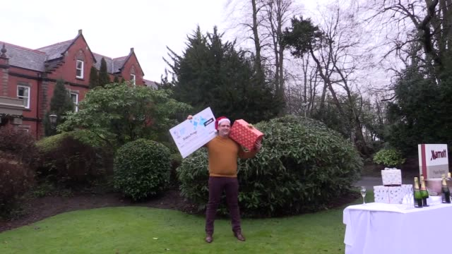 single dad and chef who won £1 million on an online scratchcard said the win will change his life completely - but he still turned up for his... - scratch card stock videos & royalty-free footage