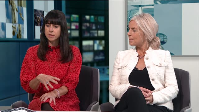 Single mothers in London move in together to share rescources ENGLAND London GIR Janet Hoggarth and Nicola Markham LIVE STUDIO interview SOT CUTAWAYS...