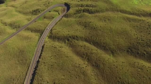 Einzige Straße, die Zerschlagung der vulkanischen Insel Maui