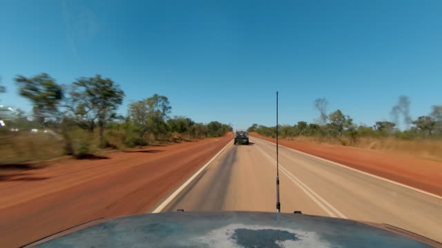 "single shot pov driving on desert road - ""bbc universal"" stock videos & royalty-free footage"