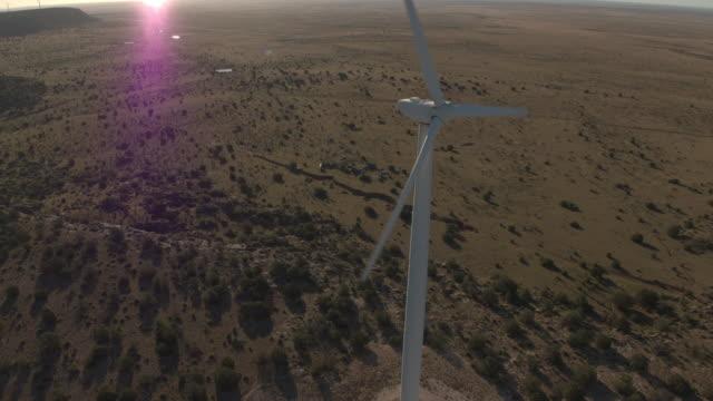 Single Turbine spinning