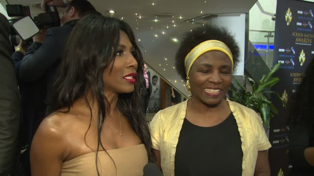 sinitta on simon cowell, equal opportunities and the awards at hilton london metropole on march 19, 2016 in london, england. - equal opportunities stock videos & royalty-free footage