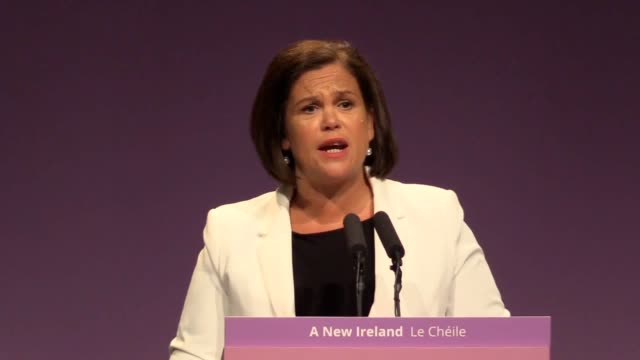 Sinn Fein president MaryLou McDonald said that the Brexit talks could not progress without an Irish border solution and accused the DUP of negativity...