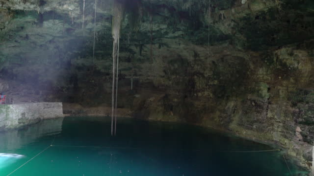 sinote in mexico - cave stock videos and b-roll footage