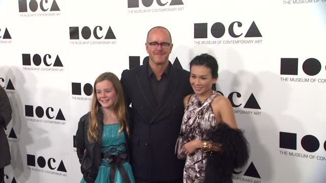 siobahn burke kevin burke and van bui at the the museum of contemporary art los angeles presents the annual moca gala at los angeles ca - los angeles museum of contemporary art stock videos and b-roll footage