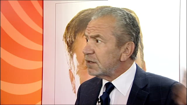 sir alan sugar attends apprenticeship seminar in gateshead; sugar press conference sot - i think that is a nasty question to be honest with you, this... - gossip stock videos & royalty-free footage
