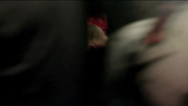stockvideo's en b-roll-footage met sir alecx ferguson signing autographs waving to fans wayne rooney fan pics and autographs and utd goalkeppers david de gea and anders lindegaard... - signeren