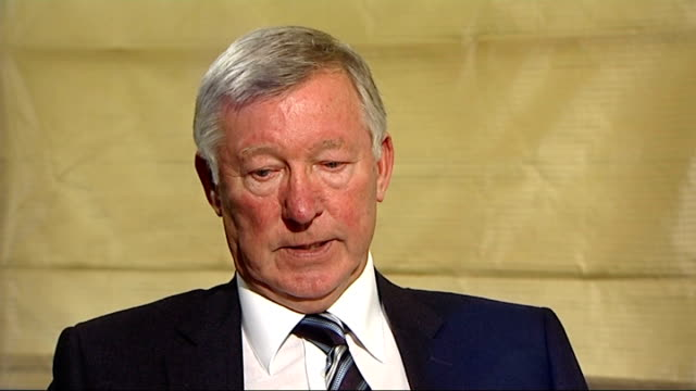 int sir alex ferguson interview sot different sort of marriage / she was already famous / that changed dynamics of his life q he embraced his... - dynamics stock videos and b-roll footage