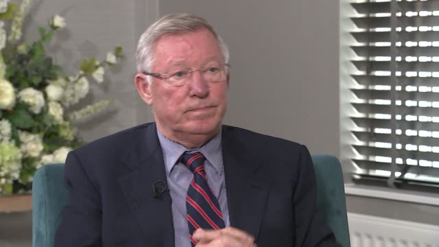 sir alex ferguson interview ferguson interview sot need to create more facilities to allow young people to practice / on greg dyke's concerns about... - greg dyke stock videos & royalty-free footage