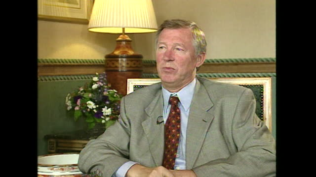 Sir Alex Ferguson saying 'everyone has a say in life now the media is hungry for people's opinion and controversy'