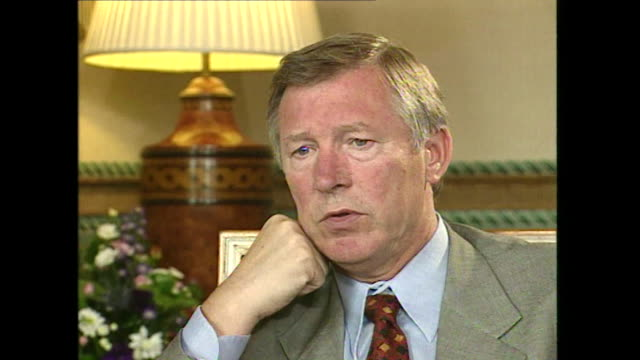 Sir Alex Ferguson saying 'I think one of the important things about building a team is how you can integrate loyalty into it'