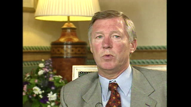 Sir Alex Ferguson saying 'I think you have to admire Rangers football club for taking the steps of signing Catholics now'