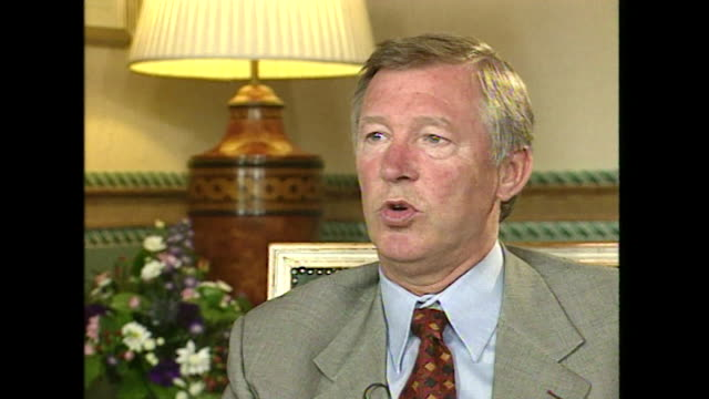 Sir Alex Ferguson saying 'it's sad if you can't joke about religion without offending someone'