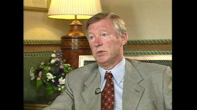 Sir Alex Ferguson saying that football 'is a habit for me it's something within you'