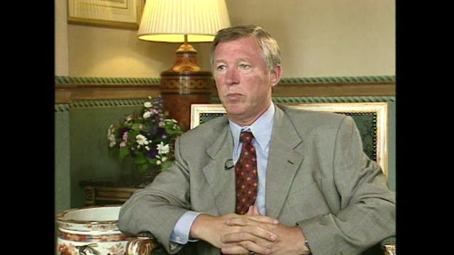 Sir Alex Ferguson saying that 'I think the English league is fantastic the Premier division you can't get better'