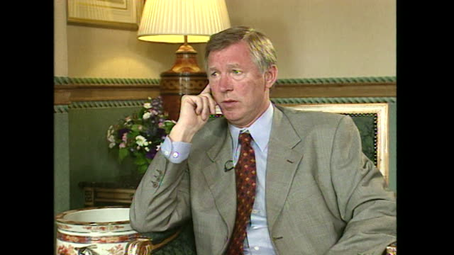 Sir Alex Ferguson saying 'the best thing a manager can dois don't get involved in the transfers now the money side of it'