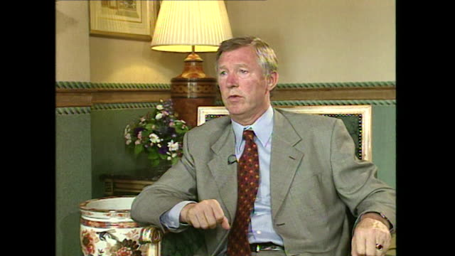 Sir Alex Ferguson saying 'there are some people sensitive in the media which surprises me'