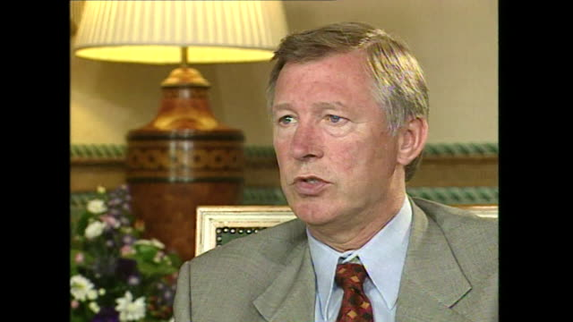 Sir Alex Ferguson talks about footballer's contracts saying they are 'morally bound' to honour it