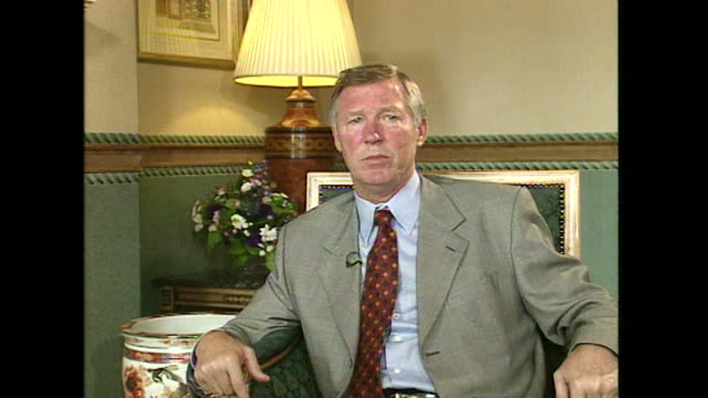 Sir Alex Ferguson talks about retirement saying 'there may be a challenge for me I don't know what it'll be'