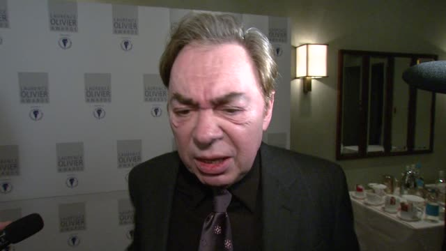 Sir Andrew LloydWebber on how his hit reality TV show How Do You Solve a Problem Like Maris made musicals 'cool' again at the The Laurence Olivier...