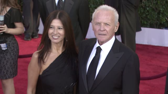 sir anthony hopkins at the 15th annual screen actors guild awards part 2 at los angeles ca - anthony hopkins stock videos & royalty-free footage