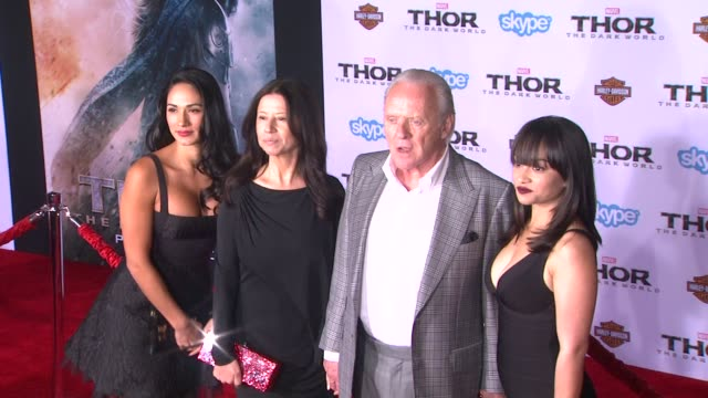 Sir Anthony Hopkins at Thor The Dark World Los Angeles Premiere in Hollywood CA on