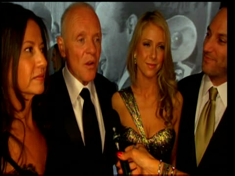sir anthony hopkins comments on oscar success of slumdog millionaire at 81st annual academy awards los angeles 22 february 2009 - anthony hopkins stock videos & royalty-free footage