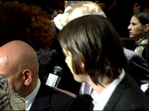 Sir Ben Kingsley and Josh Hartnett at the 'Lucky Number Slevin' New York Premiere at the Ziegfeld Theatre in New York New York on March 21 2006