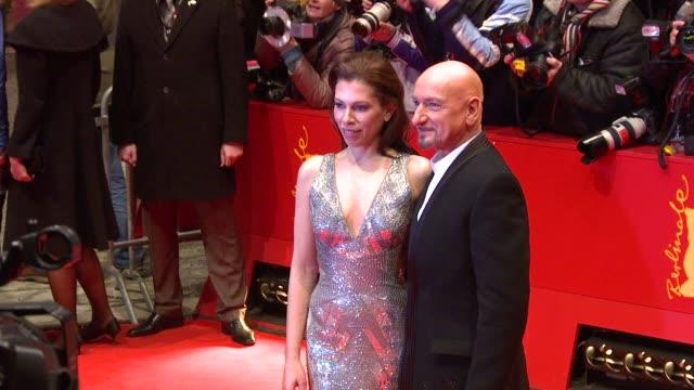 Sir Ben Kingsley and wife Daniela Lavenda at the Shutter Island Premiere 60th Berlin Film Festival at Berlin