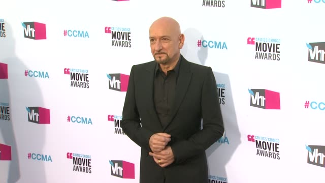 Sir Ben Kingsley at 17th Annual Critics' Choice Movie Awards on 1/12/12 in Hollywood CA
