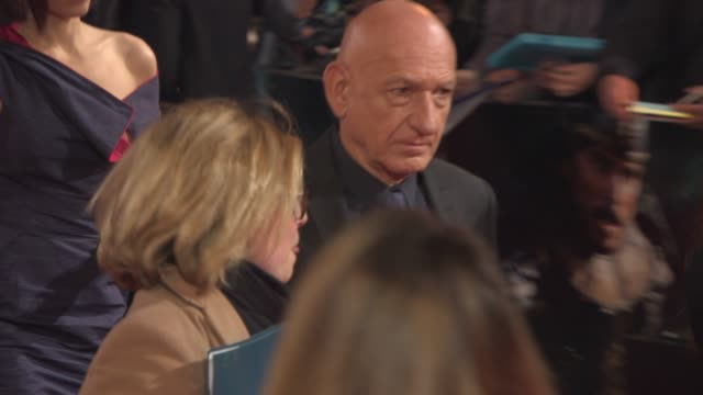 Sir Ben Kingsley at 'Exodus Gods and Kings' premiere at Odeon Leicester Square on December 03 2014 in London England