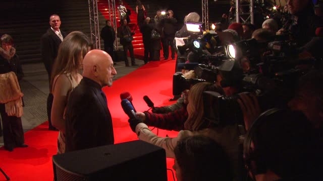 sir ben kingsley at the 59th berlin film festival cinema for peace at berlin - ben kingsley stock videos and b-roll footage