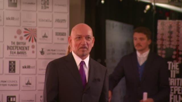 Sir Ben Kingsley at the British Independent Film Awards at London