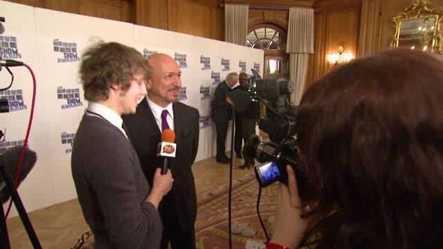 Sir Ben Kingsley at the UK The Southbank Show Awards at London