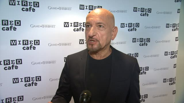 interview sir ben kingsley on his movie the boxtrolls and the comiccon experience wired cafe @ comiccon day 2 at omni hotel on july 25 2014 in san... - ben kingsley stock videos & royalty-free footage