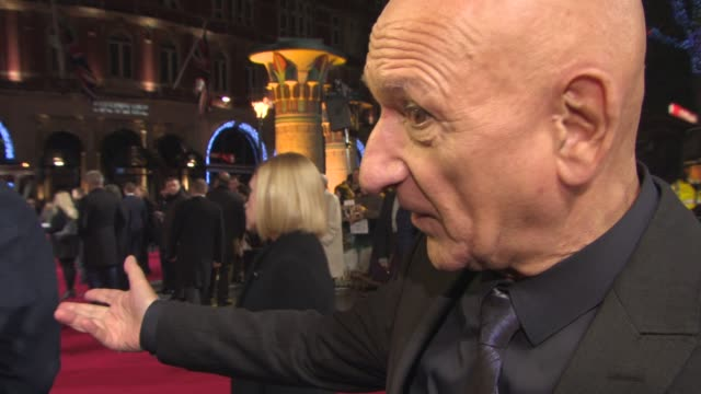 INTERVIEW Sir Ben Kingsley on his research playing Moses before working with Sir Ridley Scott his next project 'The Jungle Book' at 'Exodus Gods and...