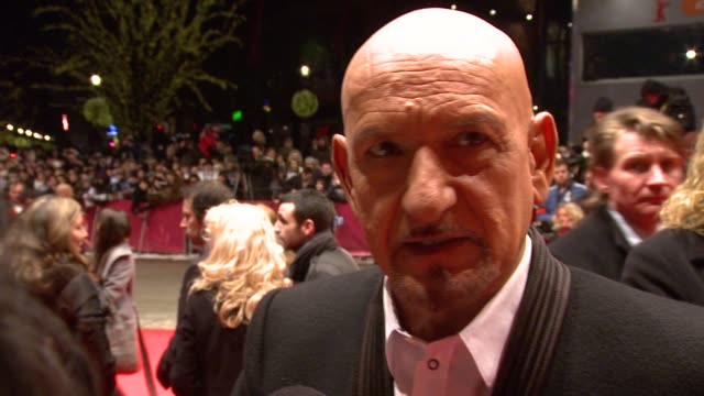 Sir Ben Kingsley on how the cast were the perfect team and how Martin Scorsese picked people for the film and how the theme of the film made him feel...
